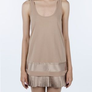 Tops - NWT fenty pleated hen tank size m